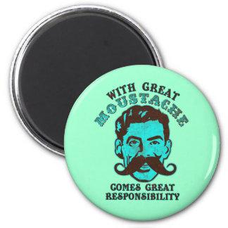 Great Moustache Fridge Magnet