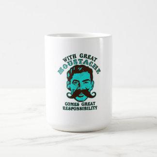 Great Moustache Basic White Mug