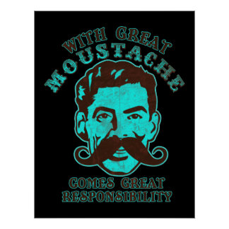 Great Moustache Print