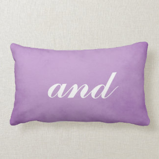 Great Mr. and Mrs. Theme Lumbar Cushion