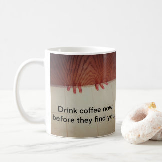 Great mug for mom! Little fingers under the door.