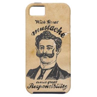 Great mustache tough iPhone 5 case
