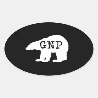 Great Northern Prepper Round Sticker
