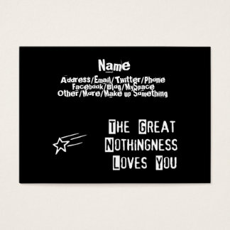 Great Nothingness Loves You