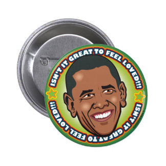 Great Obama 6 Cm Round Badge