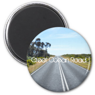 Great Ocean Road 6 Cm Round Magnet
