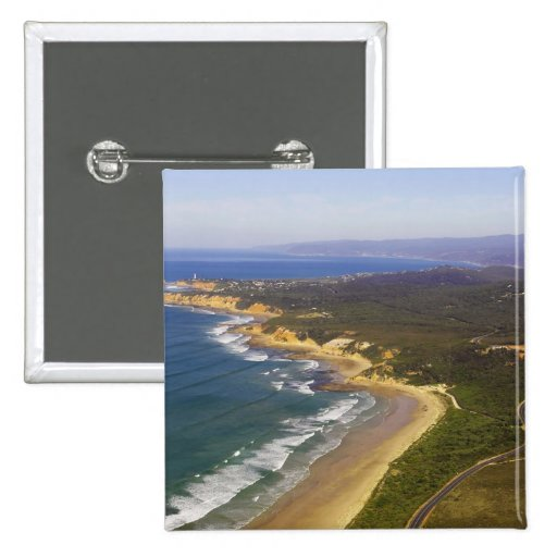 Great Ocean Road and Split Point Lighthouse, Pinback Buttons