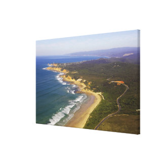 Great Ocean Road and Split Point Lighthouse, Stretched Canvas Prints