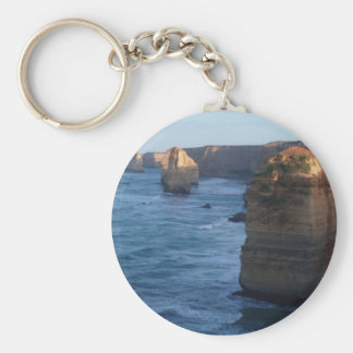 Great Ocean Road Basic Round Button Key Ring