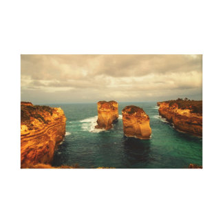 Great Ocean Road - Island Archway Canvas Print
