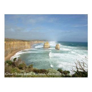 Great Ocean Road, Victoria, Australia Post Card