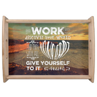 Great Ocean Road Your Work Discover World Heart Service Trays