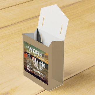Great Ocean Road Your Work Discover World Heart Wedding Favour Boxes