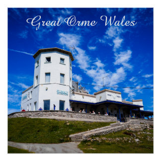 Great Orme Wales. Poster