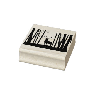 Great out Doors Rubber Stamp