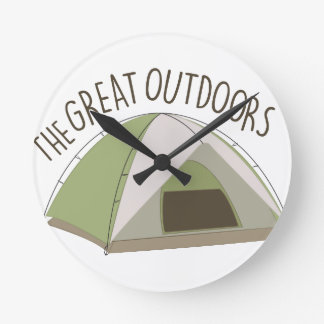 Great Outdoors Clock
