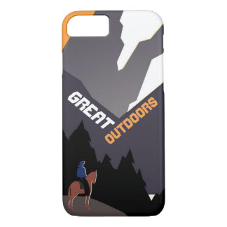 Great Outdoors Montana iPhone 7 Case