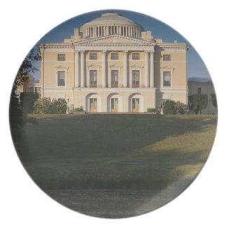 Great Palace of Czar Paul I, exterior Plate