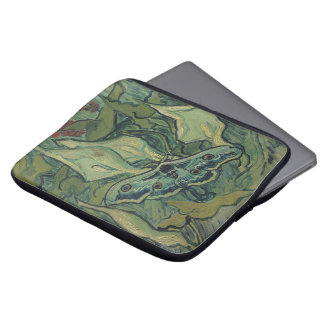 Great Peacock Moth by Vincent van Gogh Laptop Sleeve