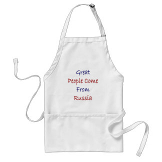 Great People Come From Russia Standard Apron