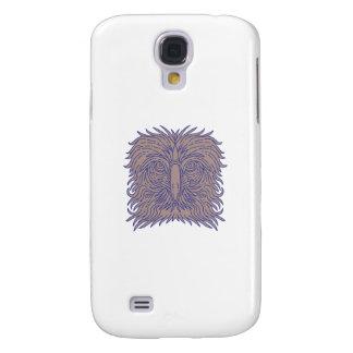 Great Philippine Eagle Head Mono Line Galaxy S4 Covers