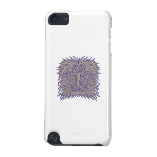 Great Philippine Eagle Head Mono Line iPod Touch 5G Cases