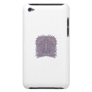 Great Philippine Eagle Head Mono Line iPod Touch Covers
