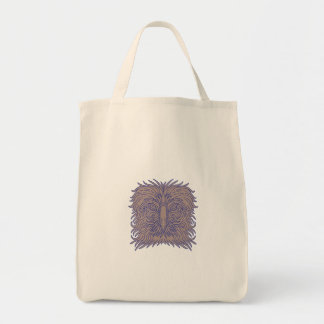 Great Philippine Eagle Head Mono Line Tote Bag