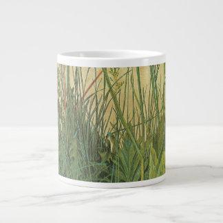 Great Piece of Turf by Albrecht Durer, Vintage Art Large Coffee Mug