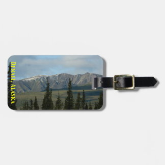 Great Places - Denali Alaska Easy ID Personalized Luggage Tag