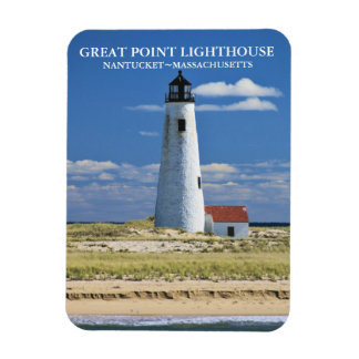 Great Point Lighthouse Nantucket MA Magnet