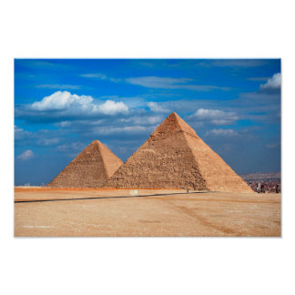 Great Pyramid Khufu & Cheops Poster