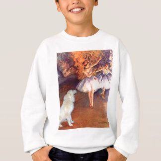 Great Pyrenees 6 - Two Dancers Sweatshirt