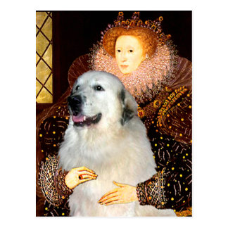Great Pyrenees 9 - Queen Postcard