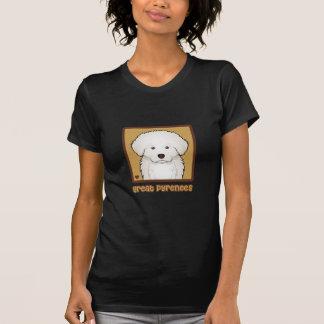 Great Pyrenees Cartoon T-Shirt