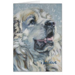 great pyrenees christmas card i believe