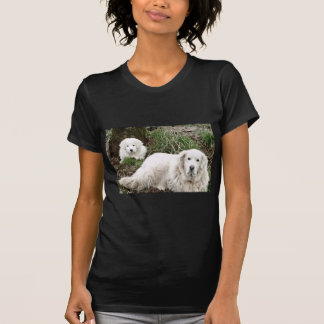 Great Pyrenees Dog and puppy T-Shirt