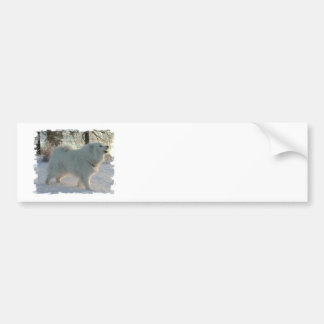 Great Pyrenees Dog  Bumper Sticker