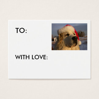 Great Pyrenees GIFT TAG - WITH LOVE: