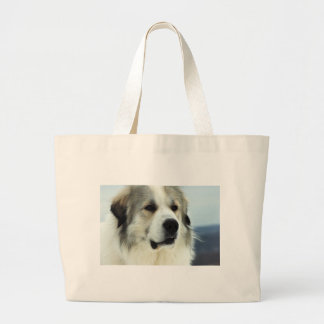 Great Pyrenees Large Tote Bag