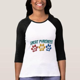 GREAT PYRENEES Mom Paw Print 1 T-Shirt