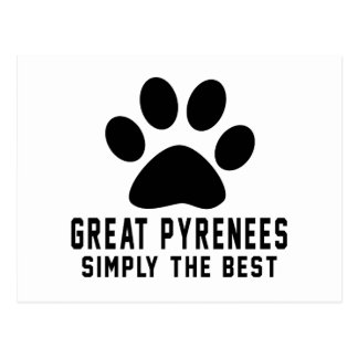 Great Pyrenees Simply the best Postcard