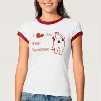 Great Pyrenees Womens T-shirt