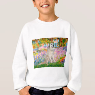 Great Pyrnees 9 - Garden Sweatshirt