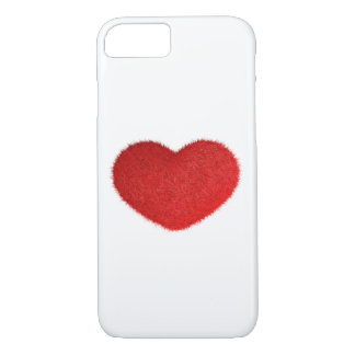 Great Red Heart. iPhone 8/7 Case