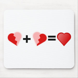 Great Relationship with soul mate Mouse Pad