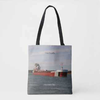 Great Republic all over tote bag