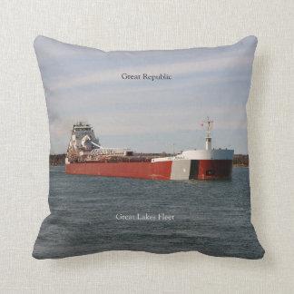 Great Republic square pillow