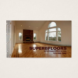 Great Room in new construction home Business Card