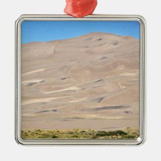 Great Sand Dunes National Park, Colorado. A flat Metal Ornament